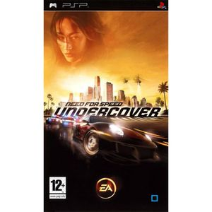 JEU PSP NEED FOR SPEED UNDERCOVER / JEU CONSOLE PSP