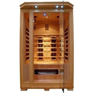 sauna infrarouge 2 places achat vente sauna infrarouge 2 places pas cher cdiscount. Black Bedroom Furniture Sets. Home Design Ideas