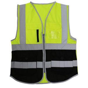 Leo Workwear Tarka Hi Vis Viz Jaune de sécurité gilet débardeur taille M//L//XL//XXL