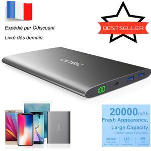 BATTERIE EXTERNE Vinsic Batterie Externe 20000mAh, PowerBank Haute
