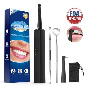 NETTOYANT APPAREIL DENT Anti tartre dentaire, iFanze 5 en 1 Kits dentaires