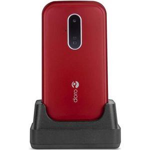 Téléphone portable TÉLÉPHONE MOBILE DORO 6620 ROUGE