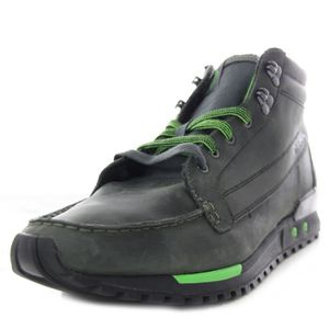 BOTTINE DIESEL bottines cuir homme MIDCITY vert