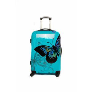 VALISE - BAGAGE Valise Moyenne 4 roues 65cm Polycarbonate BUTTERFL