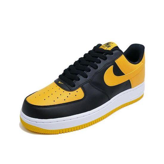 air force 1 jaune et noir