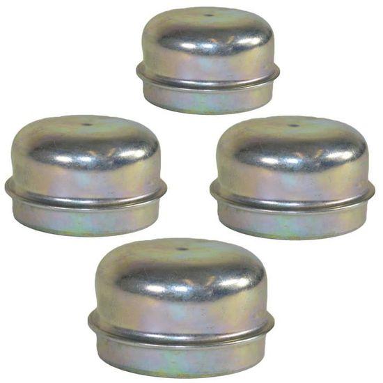Or hexagonale Haute Qualité Métal Métallique Capuchons Anti-poussière-Pack de 4 caps