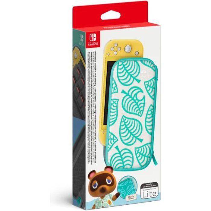 Pochette de transport Nintendo Switch Animal Crossing