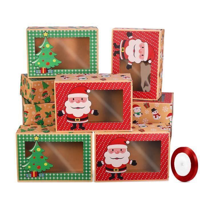 12 PCS De Noël Boîtes À Biscuits Inodore Portable OUTIL SCRAPBOOKING - QUILLING - GRATTOIR - PLIOIR - PIQUE - RAINUREUSE