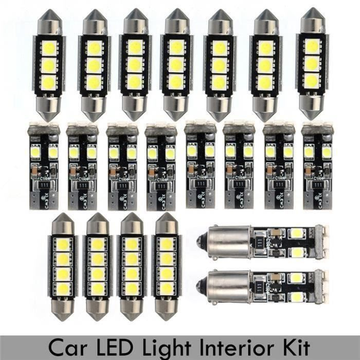 kit 21pcs x LED Ampoule Canbus Lampe Lumière Pour BMW E46 Sedan M3 1999-2005 Bo46968