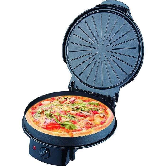 Passez la souris sur l'image pour zoomer TRIOMPH - ETF1599 - MULTICUISEUR – PIZZA – TARTE – CREPE – 1200W