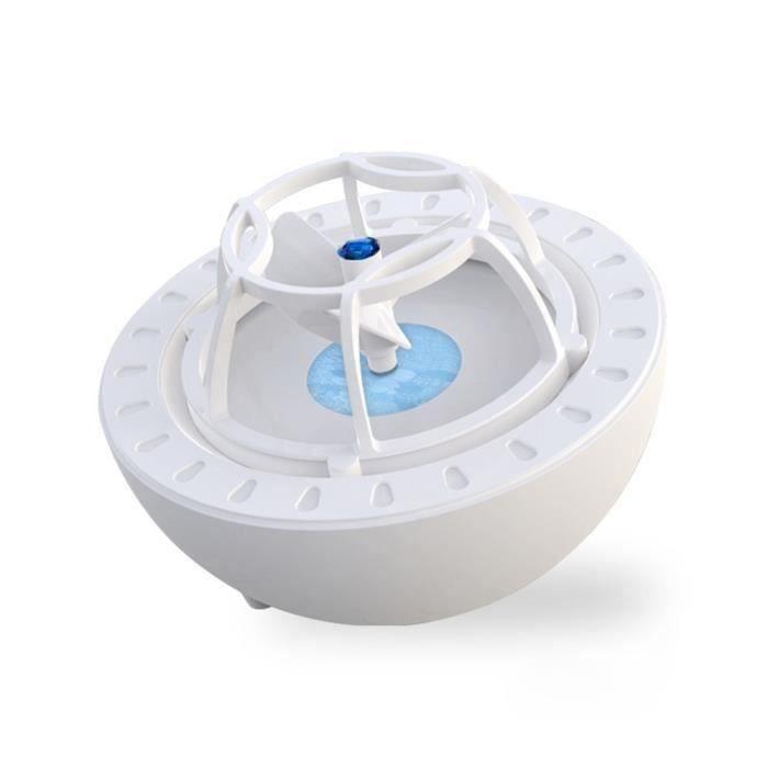 10W Lave Vaisselle ultrasonique Haute Pression - USB Smart - Nettoyant de Lave-Vaisselle créatif pour Fruits et légumes Bleu