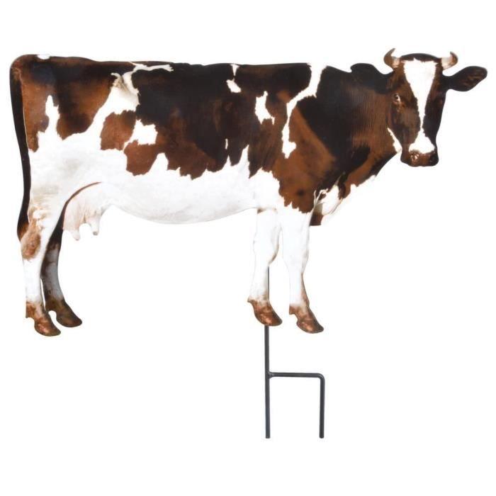 Animal de la ferme décoratif sur pic