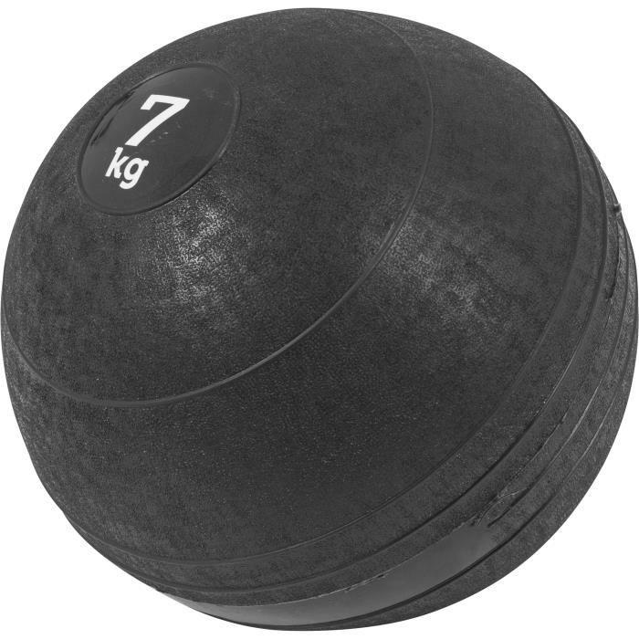 Gorilla Sports - Slam Ball Caoutchouc de 3kg à 20Kg - 7 KG