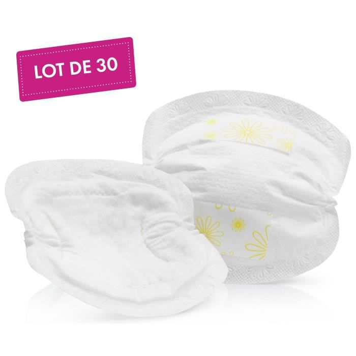 MEDELA Safe & Dry Coussinets d'allaitement ultra-absorbants à usage unique x30