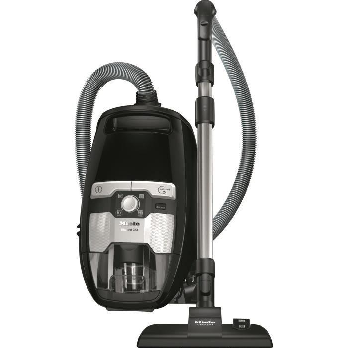 MIELE Blizzard CX1 Ecoline - Aspirateur sans sac - 550 W - A+ - 75 dB - 3 accessoires intégrés - Noir