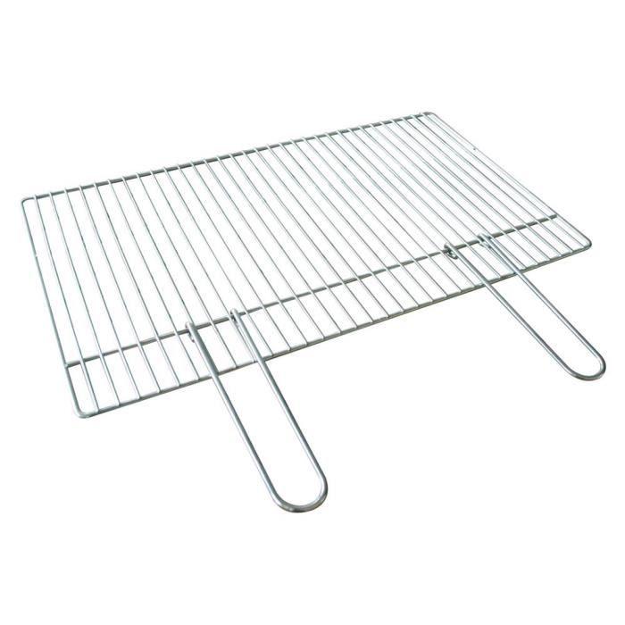 Griglia graticola per Barbecue Beton 57x40 cm in acciaio per BBQ