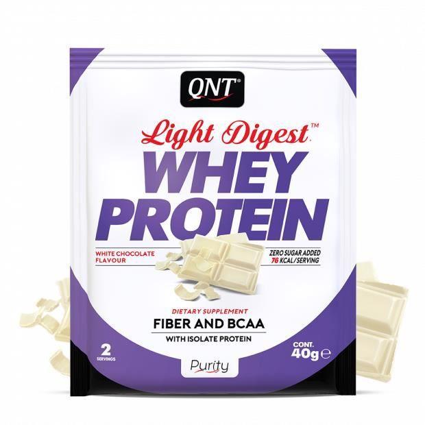 Light Digest Whey Protein Chocolat Blanc 40 g