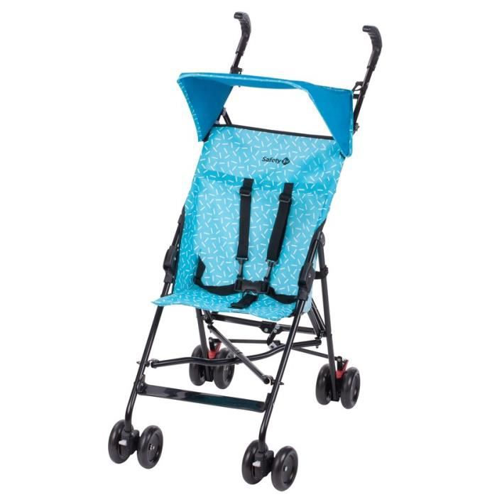 SAFETY FIRST Poussette Canne Fixe Peps + Canopy Donuts Party Blue