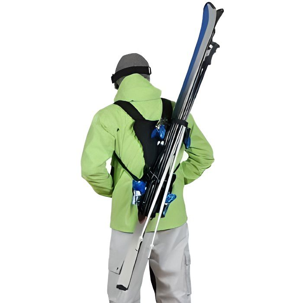 SAC À DOS DE RANDONNÉE Sac à dos pour transport facile des skis