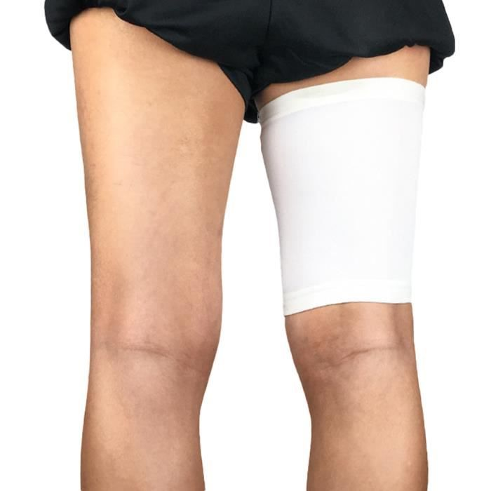 Gracorgzjs Sport Unisexe Compression Jambe Protector Bandage Cuisse Support Extensible Manches