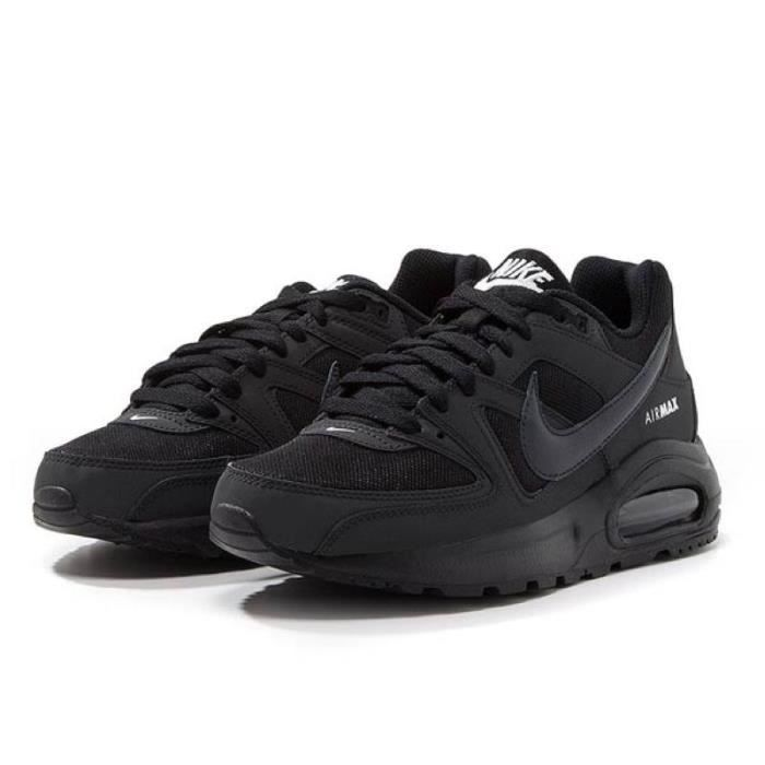 innovative design fc532 d70f2 ... get nike baskets air max command flex junior garçon noir et gris 7a8da  8d9b1