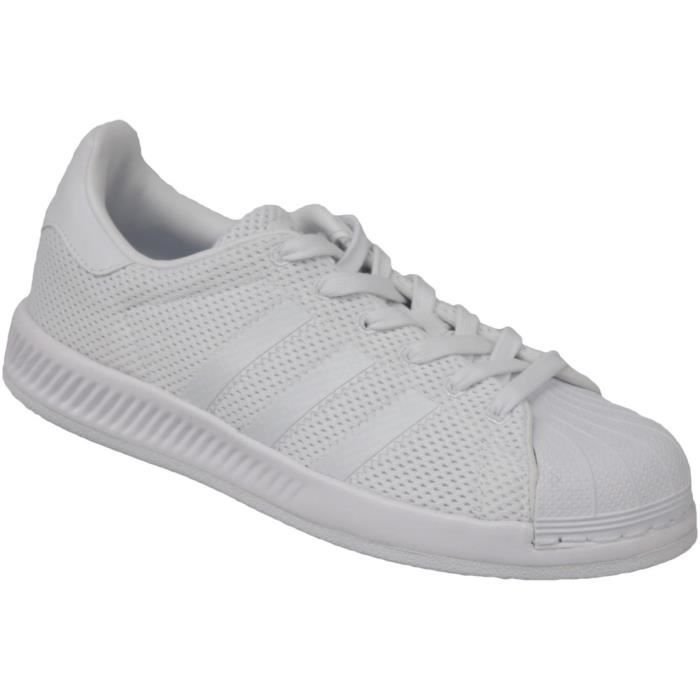 Adidas Superstar Bounce BY1589 Enfant mixte Baskets Blanc