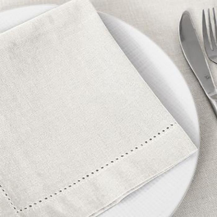 Serviettes moments 16 lots Crème lunch serviettes deco Mariage