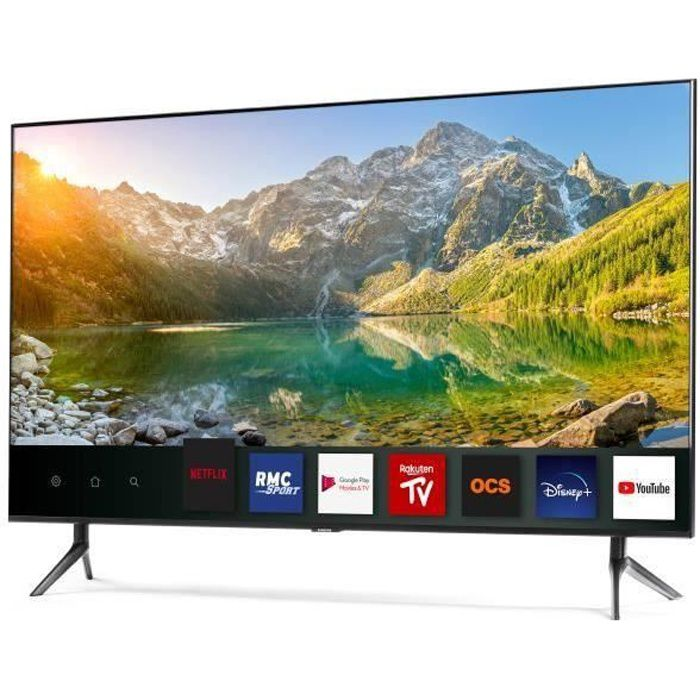 """Téléviseur LED SAMSUNG UE49RU7372 TV LED 4K UHD 123 cm (49"""") -  E"""