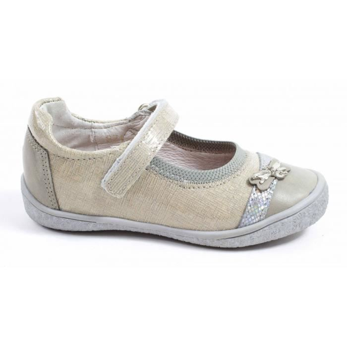 Le Loup Blanc BallerinesFille beige Tbt4M