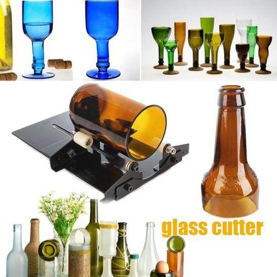 Machine-outil de coupe-bouteille en verre des bouteilles bière de vin*