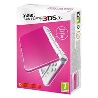 CONSOLE NEW 3DS XL Console New Nintendo 3DS XL, Rose/Blanc