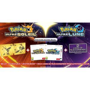 JEU 3DS Pokémon Ultra-Lune et Pokémon Ultra-Soleil Jeu 3DS