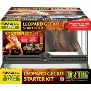 VIVARIUM - TERRARIUM Starter Kit Gecko Leopard Exo Terra