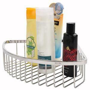 PORTE ACCESSOIRE panier d'angle de douche avec vis Organisateur fix