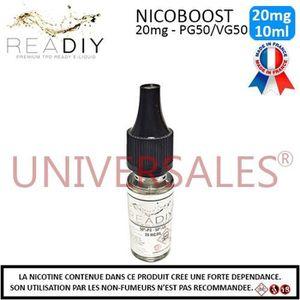 LIQUIDE E-liquide Nicoboot 20mg de nicotine - PG50/VG50 -