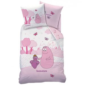 Linge de lit super u meuble de salon contemporain - Housse de couette barbapapa ...
