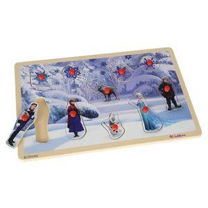 PUZZLE Puzzle en bois La reine des neiges 10 Pièces - Puz