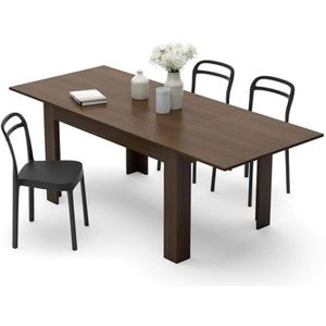 TABLE À MANGER SEULE Mobilifiver Table extensible Cuisine, Easy, Noyer