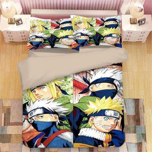 PARURE DE DRAP Naruto Parure de lit 3 pièces de Marque -1 Housse