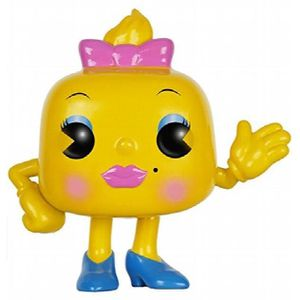FIGURINE - PERSONNAGE Figurine Miniature FUNKO Jeux Pop: Mme Pac-Man Act