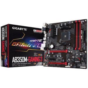 CARTE MÈRE Gigabyte Carte mère GA-AB350M-Gaming 3 - AMD B350