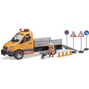CAMION ENFANT BRUDER 2537 Camion municipal MB avec module son et