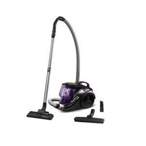 ASPIRATEUR TRAINEAU MOULINEX - Aspirateur sans sac 79db noir-violet -