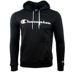 SWEATSHIRT SWEAT CAPUCHE NOIR CHAMPION
