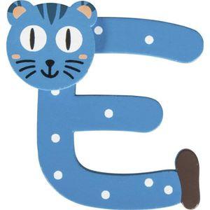 PLAQUE DE PORTE Alphabet en bois pour prénom d'enfant (approx. 5cm