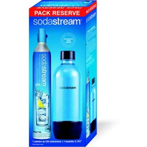 MACHINE À SODA Pack bouteille et cylindre Sodastream PACK Cylindr