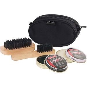CIRAGE ET ENTRETIEN Kit de nettoyage chaussures - Noir