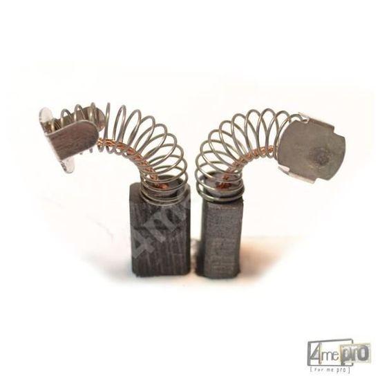 hr3520b hr3520 2x Balais Charbon 6 x 10 x 15 mm pour Makita hr2510