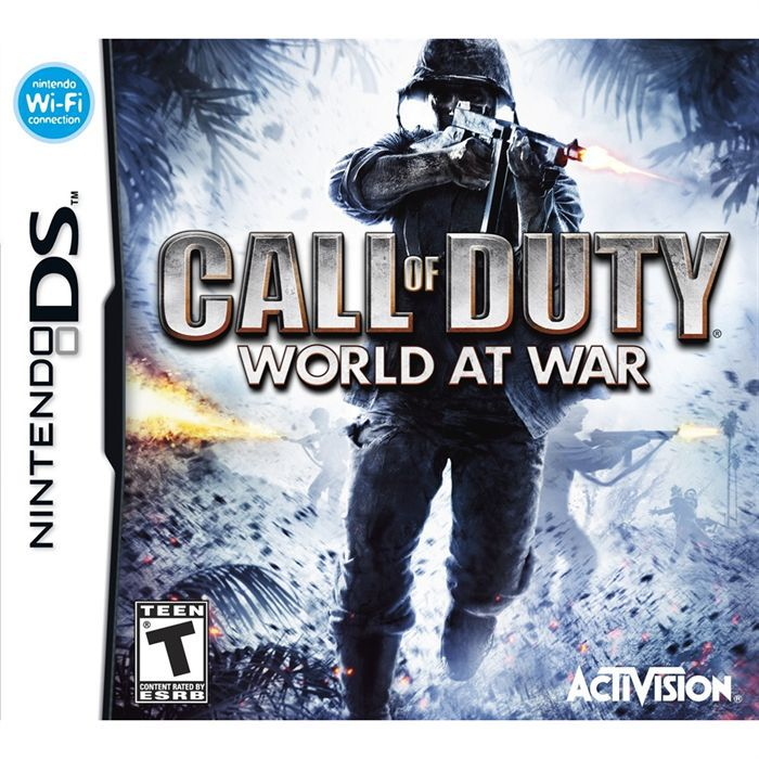 JEU DS - DSI CALL OF DUTY 5 WORLD AT WAR / jeu console Nintendo