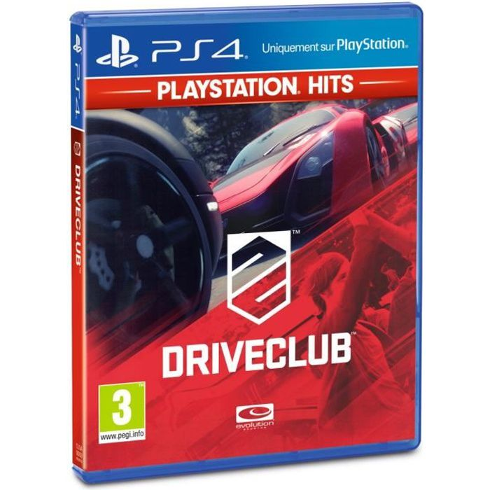 DRIVECLUB PlayStation Hits Jeu PS4